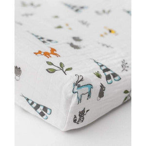 Little Unicorn Nursery Decor Little Unicorn Cotton Muslin Changing Pad Cover Forest Friends