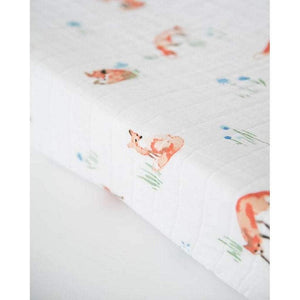 Little Unicorn Nursery Decor Little Unicorn Cotton Muslin Changing Pad Cover Fox