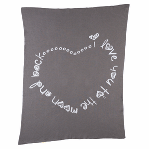 Living 63 Infinite Love Blanket-Nursery Decor-Babysupermarket