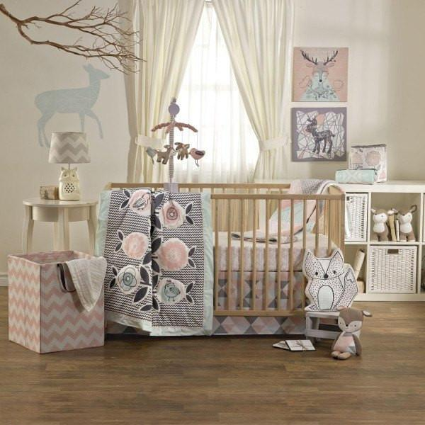 Lolli Living Sparrow Baby Crib Set-Nursery Décor-Babysupermarket