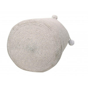 Lorena Canals Nursery Décor Lorena Canals Cotton Bubbly Basket Grey