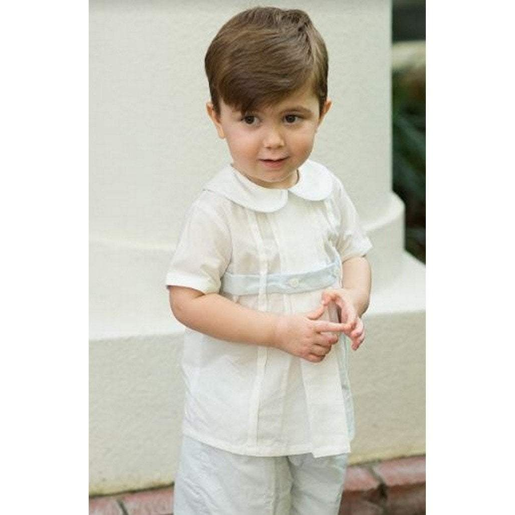 Lullaby Set Boys Apparel Lullaby Set Benton Boys Short Sleeve Dressy Short Set