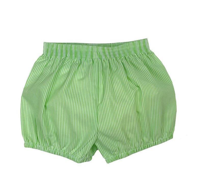 Lullaby Set Apparel 12M / Green Lullaby Set Bryce Boys Bloomer Green Stripe