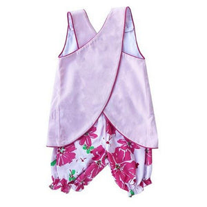 Lullaby Set Girls Apparel Lullaby Set Ruth Girls Floral Bloomer Set