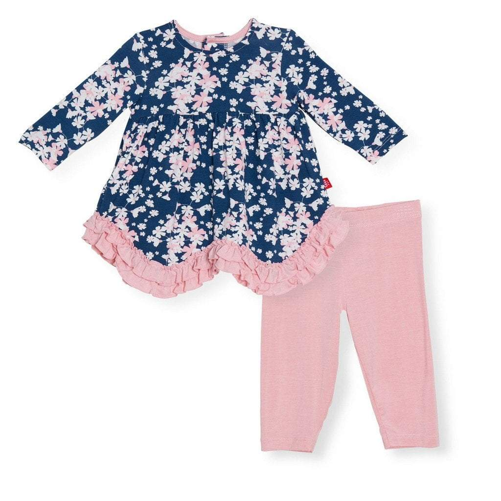 Magnificent Baby Apparel Magnetic Me Aberdeen Modal Magnetic Dress and Pant Set