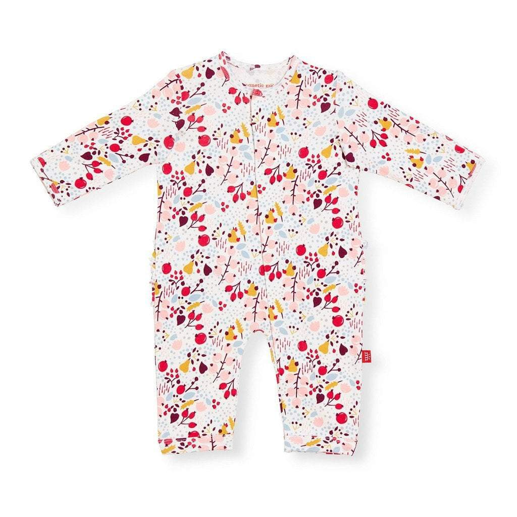 Magnificent Baby Apparel Magnetic Me Pom Pom Organic Cotton Coverall