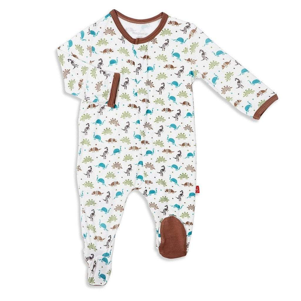 Magnificent Baby Baby Infant Magnetic Footie