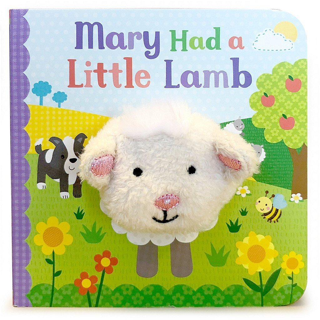 Cottage Door Press Gifts & Apparel Mary Had A Little Lamb Finger Puppet Book