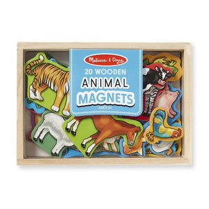 Melissa & Doug Animal Wooden Magnets-Toys-Babysupermarket