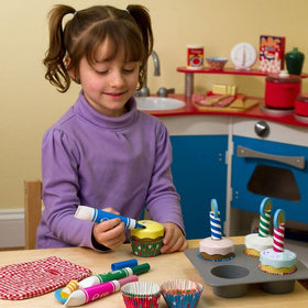 Melissa & Doug Bake & Decorate Cupcake Set-Toys-Babysupermarket