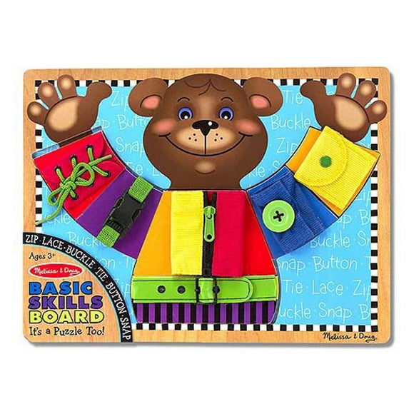 Melissa & Doug Basic Skills Board Developmental Toy-Toys-Babysupermarket