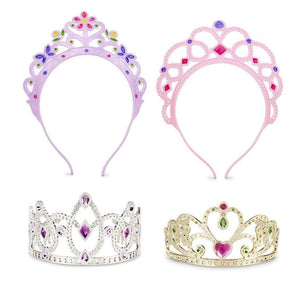 Melissa & Doug Dress-Up Pretend and Play Tiaras-Toys-Babysupermarket
