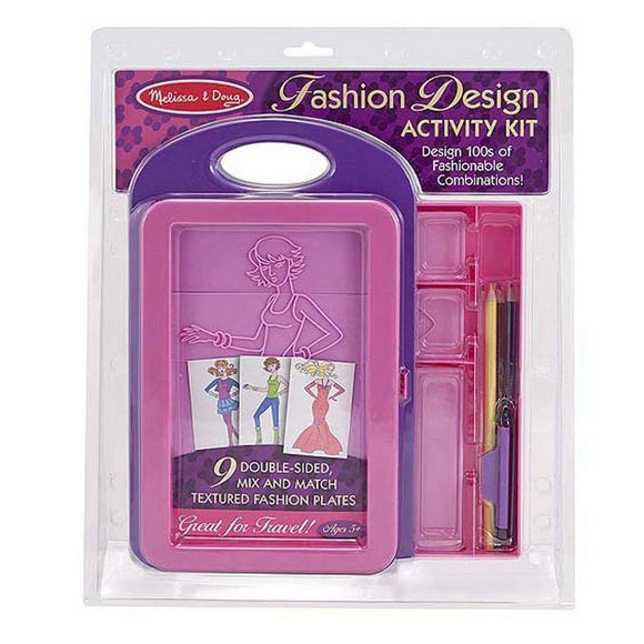 Melissa & Doug Fashion Design Activity Kit-Toys-Babysupermarket