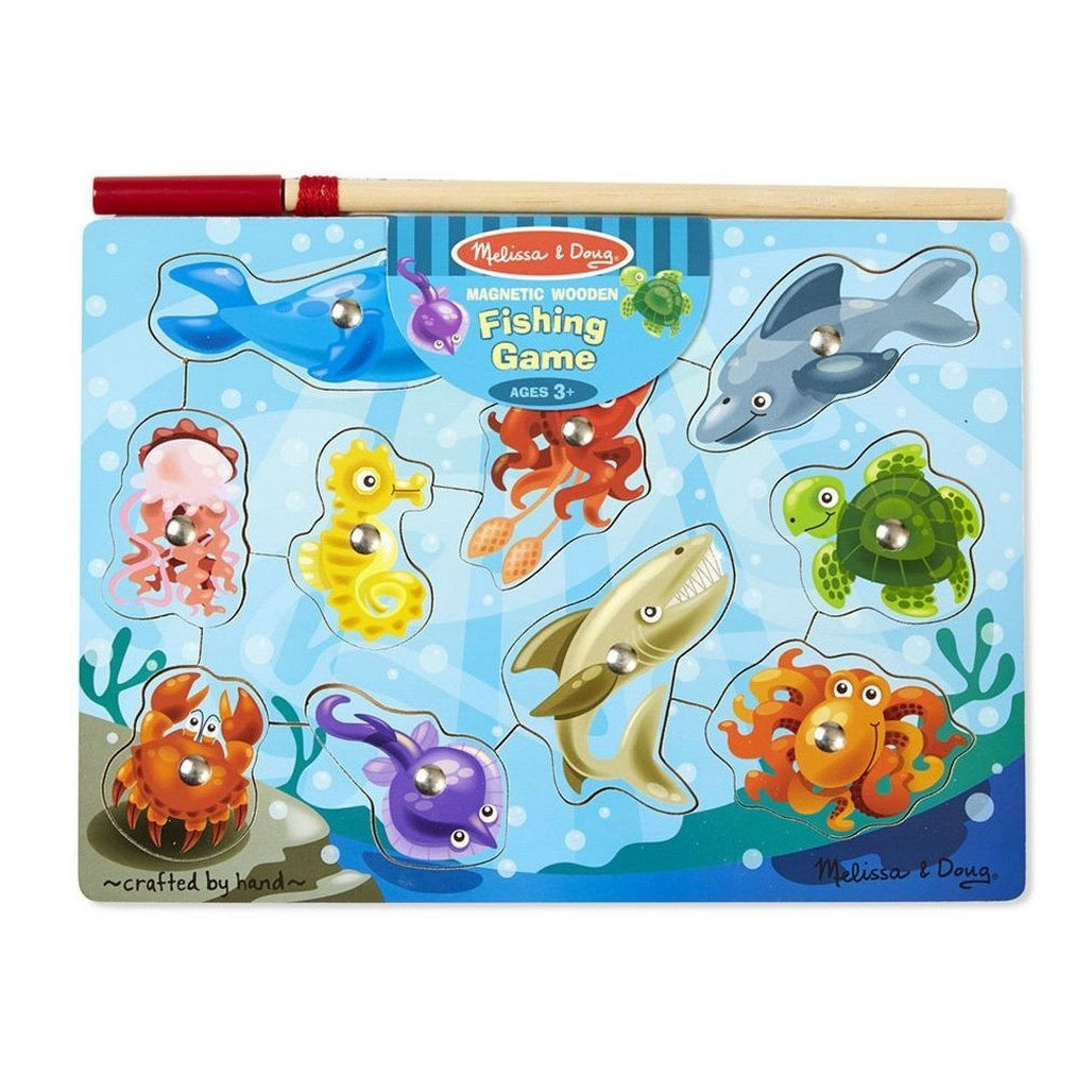 Melissa & Doug Fishing Magnetic Puzzle Game-Toys-Babysupermarket