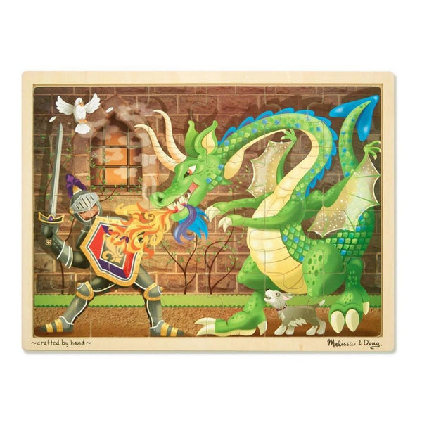 Melissa Amp Doug Knight Vs Dragon Jigsaw Puzzle