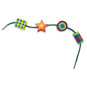 Melissa & Doug Lacing Beads Developmental Toy-Toys-Babysupermarket