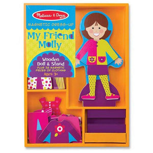 Melissa & Doug Magnetic My Friend Molly-Toys-Babysupermarket