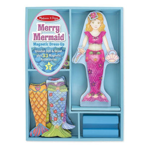Melissa & Doug Merry Mermaid Magnetic Dress Up Set-Toys-Babysupermarket
