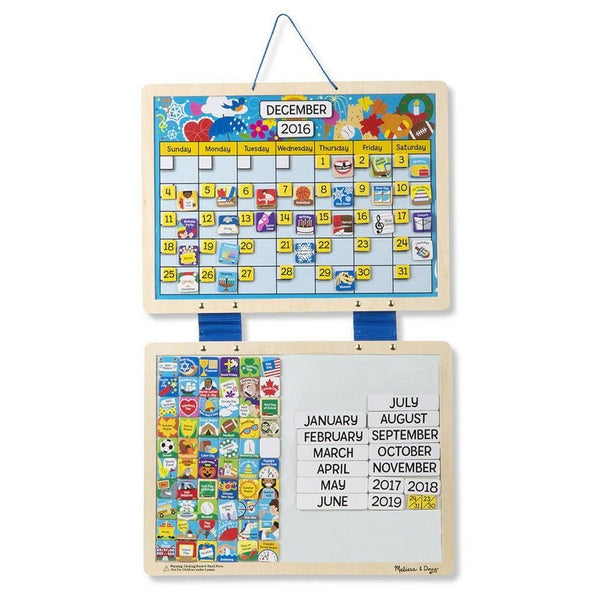 Melissa Amp Doug Monthly Magnetic Calendar