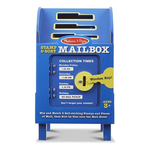 Melissa & Doug Stamp & Sort Mailbox Play Set-Toys-Babysupermarket