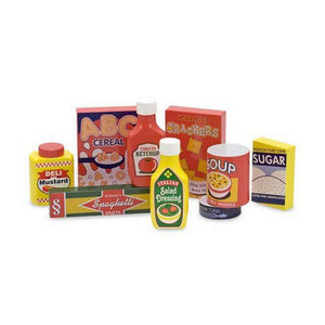 Melissa & Doug Wooden Pantry Food Products Set-Toys-Babysupermarket