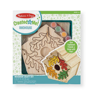 Melissa and Doug Toys Melissa & Doug Created by Me! Birdhouse Wooden Craft Kit