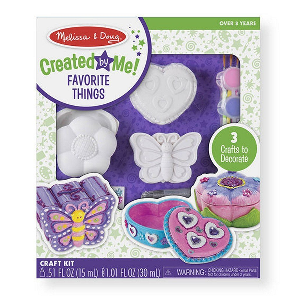 Melissa and Doug Toys Melissa & Doug Created by Me! Favorite Things Craft Kit