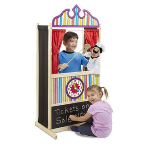 Melissa and Doug Toys Melissa & Doug Deluxe Puppet Theater
