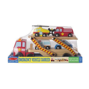 Melissa and Doug Toys Melissa & Doug Emergency Vehicle Carrier