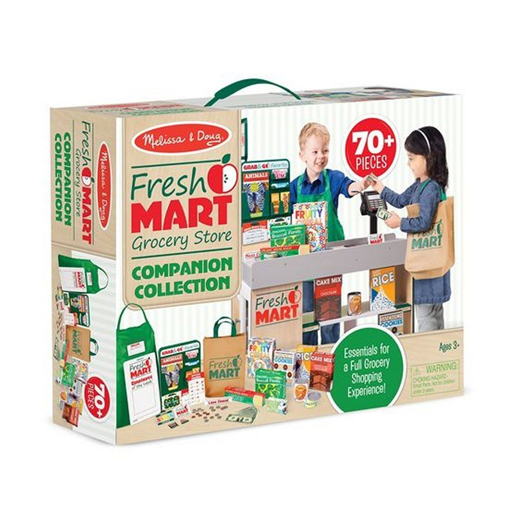 Melissa and Doug Toys Melissa & Doug Fresh Mart Grocery Store Companion Collection