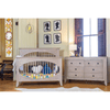 Milk Street Baby Cameo Oval Convertible Crib-Furniture-Babysupermarket