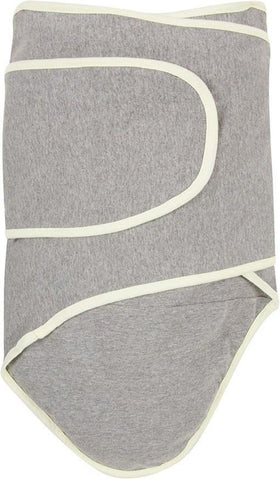 Miracle Blanket Infant Swaddler Blanket Gray with Yellow Trim-Gifts & Apparel-Babysupermarket