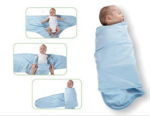 Miracle Blanket Infant Swaddler Blanket Solid Blue-Gifts & Apparel-Babysupermarket