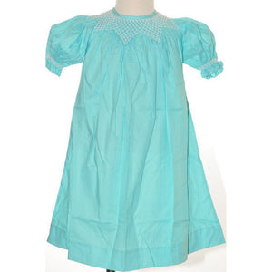 Mom n Me, Inc Girls Apparel 2T / Aqua Mom and Me Girl Dress with Pearls