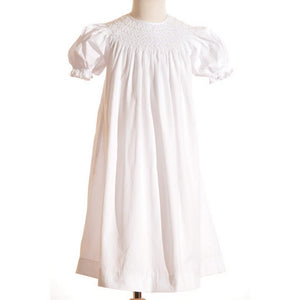 Mom n Me, Inc Girls Apparel 2T / White Mom and Me Girl White Dress