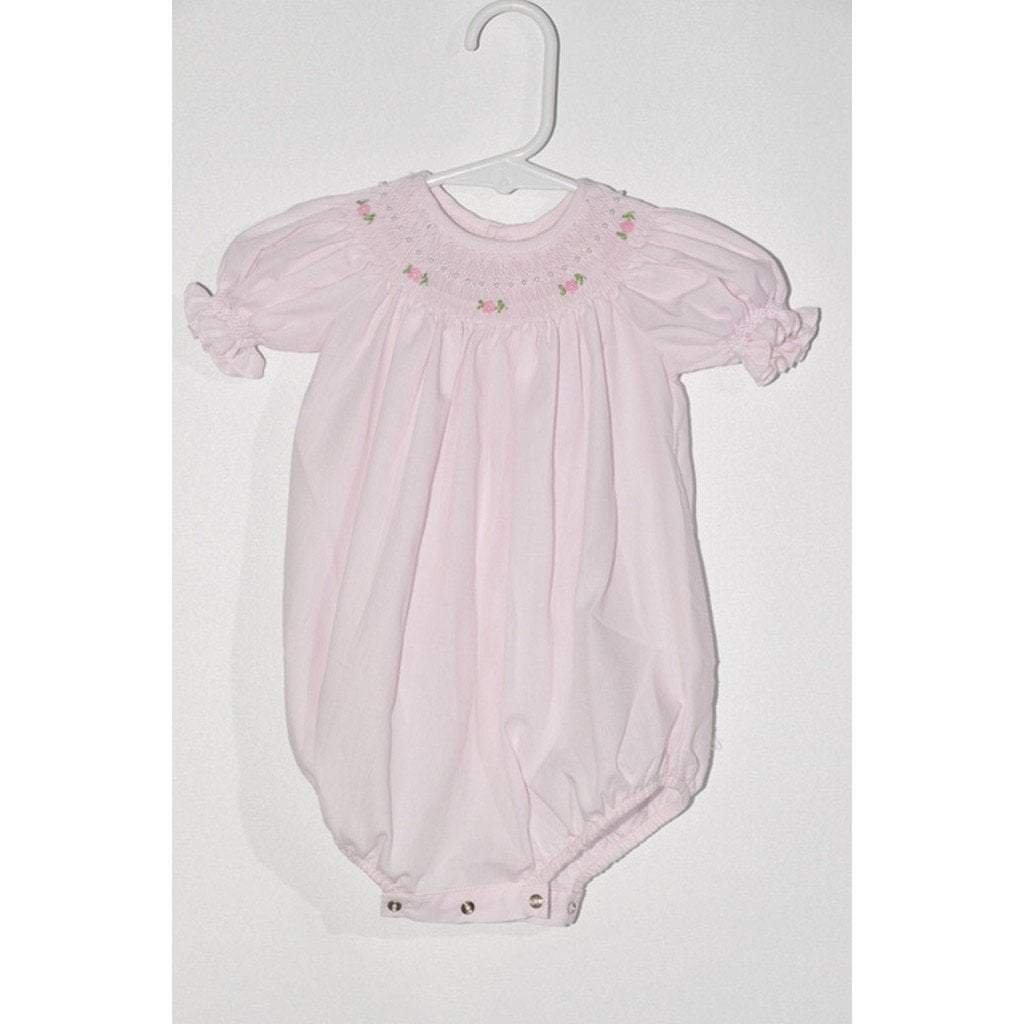 Mom n Me, Inc Infant Apparel 3M / Pink Mom and Me Infant Girl Bubble with Rosettes