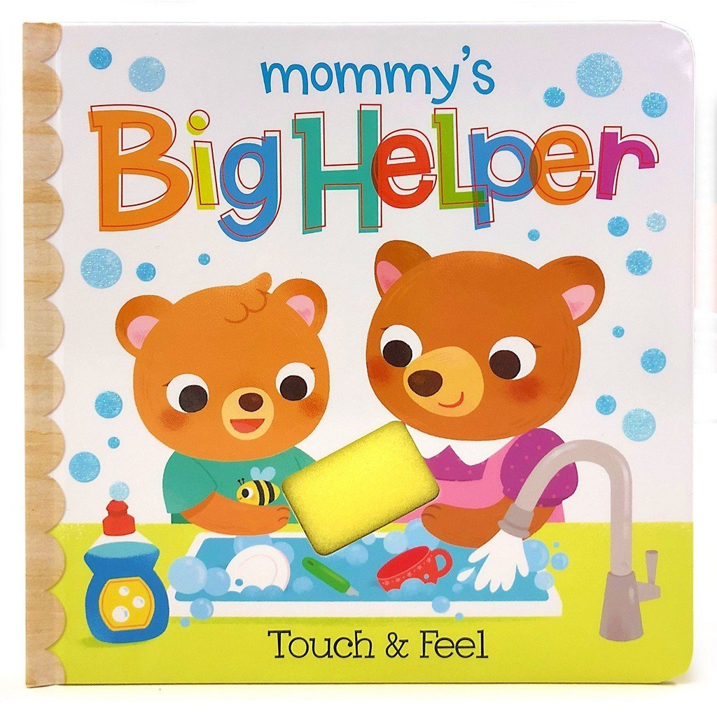 Cottage Door Press Gifts & Apparel Mommy's Big Helper Touch and Feel Children's Book