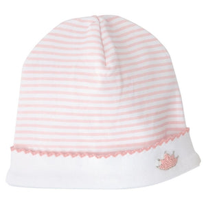 MUDPIE Gifts & Apparel Pink MUD PIE French Knot Crown Cap