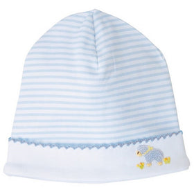 MUDPIE Gifts & Apparel Blue MUD PIE French Knot Lamb Cap Blue