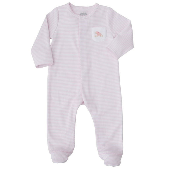 MUDPIE Gifts & Apparel 0-3 months / Pink MUD PIE French Knot Lamb Sleeper