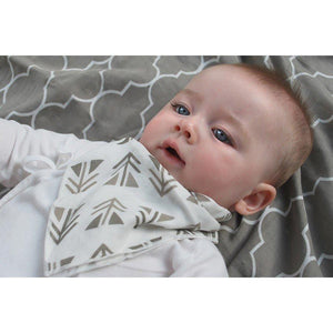 Nest Designs Two Pack Banana Baby Bibs-Baby Care-Babysupermarket
