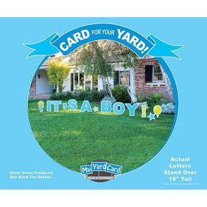 My Yard Card Baby Announcement-Gifts & Apparel-Babysupermarket