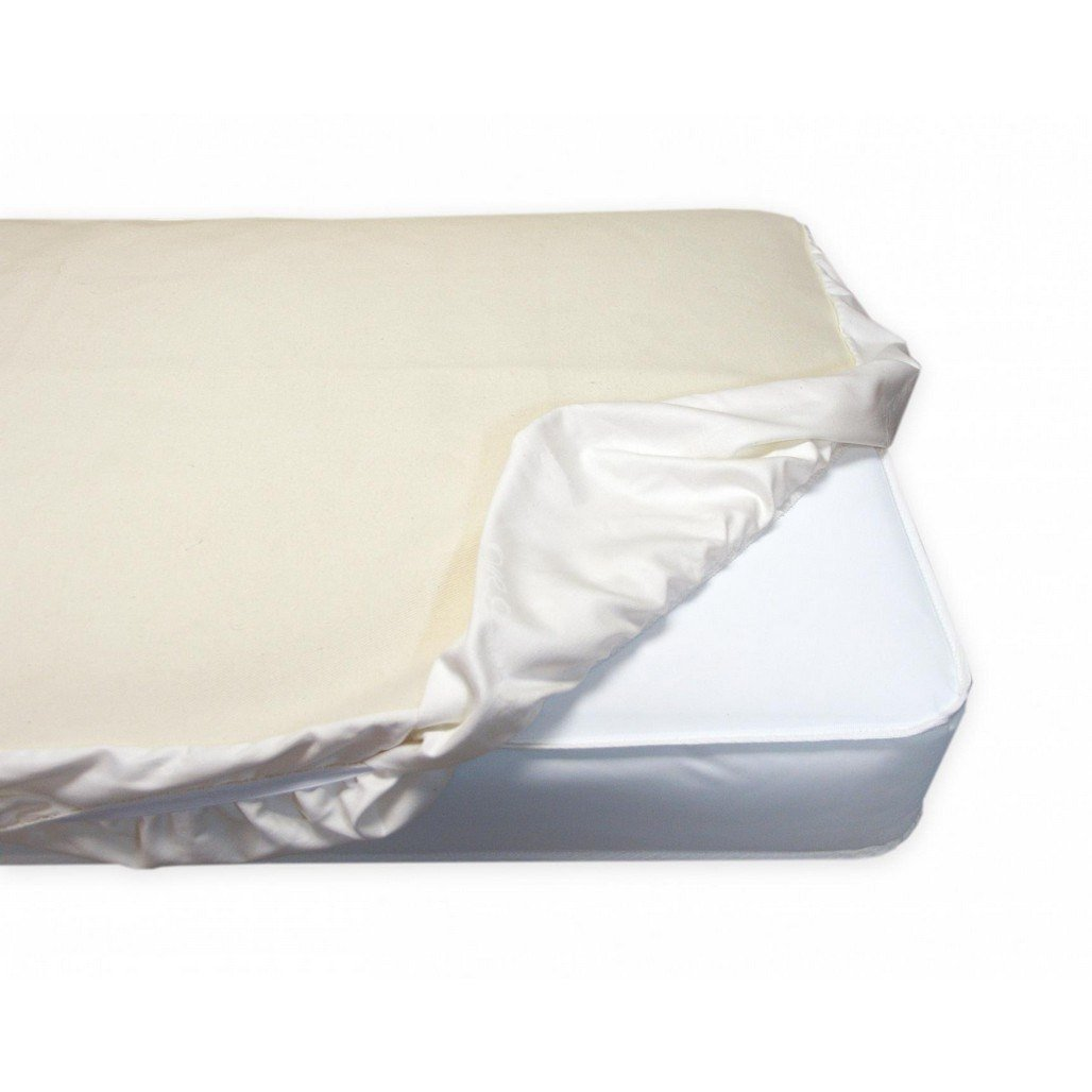 Naturepedic Non Waterproof Fitted Crib Mattress Protector Pad-Furniture-Babysupermarket