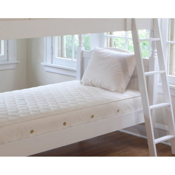 Naturepedic Organic Cotton 2 in 1 Ultra Twin Mattress-Furniture-Babysupermarket