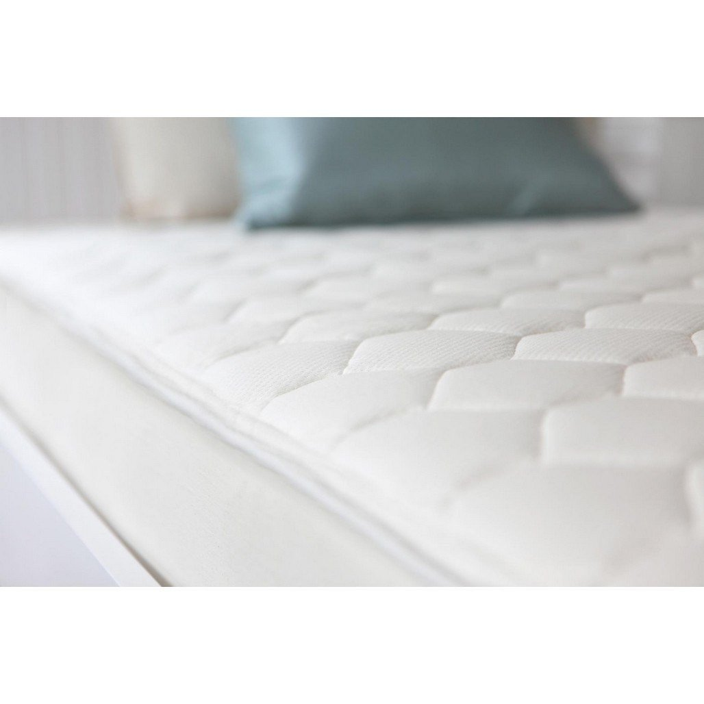 Naturepedic Organic Cotton Quilted Deluxe Full Mattress-Furniture-Babysupermarket