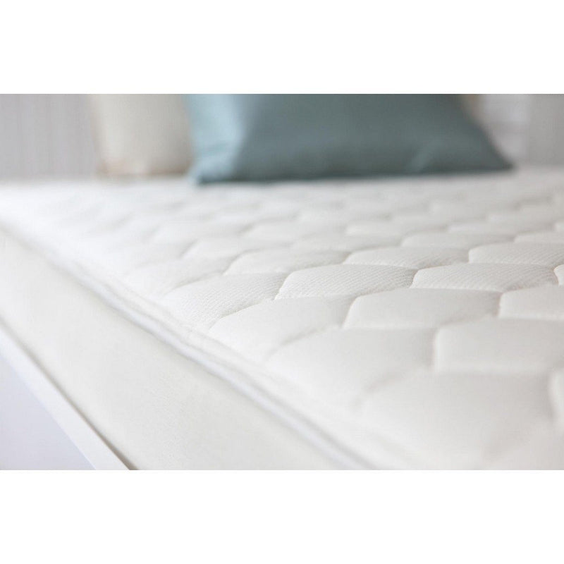 naturepedic organic cotton quilted deluxe twin mattress furniture babysupermarket - Organic Twin Mattress
