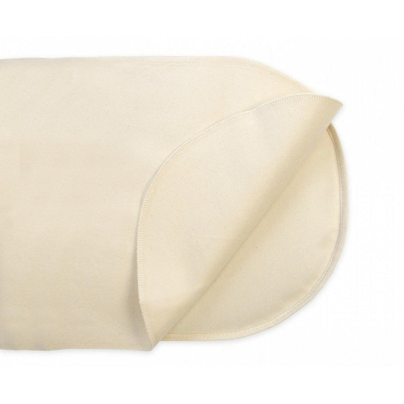 Naturepedic Organic Waterproof Oval Bassinet Flat
