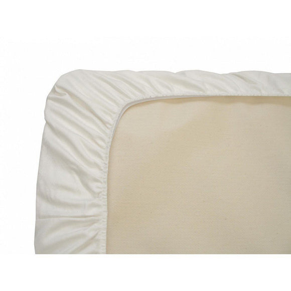 Naturepedic Organic Flannel Cotton Crib Sheet-Nursery Decor-Babysupermarket