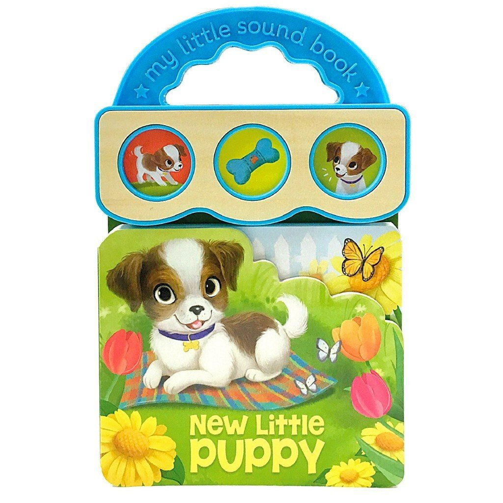 Cottage Door Press Gifts & Apparel New Little Puppy Children's 3 Button Sound Book