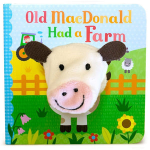 Cottage Door Press Gifts & Apparel Old MacDonald Had A Farm Book Finger Puppet Book